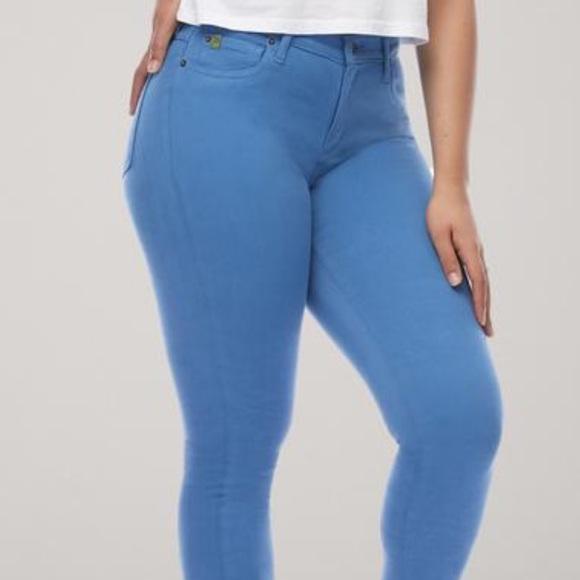 Yoga Jean brand skinny jeans